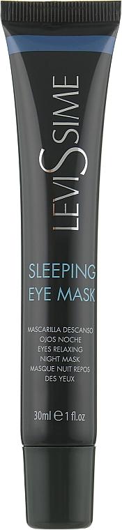 Ночная расслабляющая маска для контура глаз - LeviSsime Sleeping Eye Mask