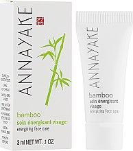 "Духи, Парфюмерия, косметика Крем для лица ""Бамбук"" - Annayake Energizing Face Care (пробник)"