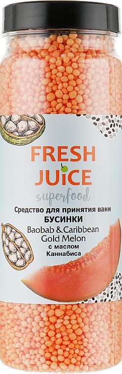 """Средство для ванн """"Баобаб и Карибская золотая дыня"""" - Fresh Juice Superfood Baobab & Caribbean Gold Melon"""