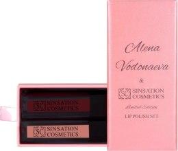 Духи, Парфюмерия, косметика Набор лимитированных помад - Sinsation Cosmetics Lip Polish Set by Alena Vodonaeva