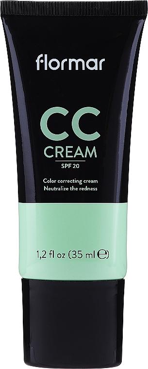 CC-крем против покраснений - Flormar CC Cream Neutralize The Redness SPF20