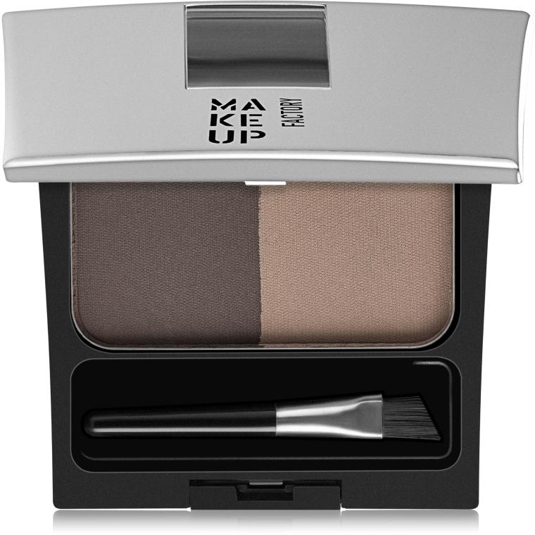 Пудра для бровей - Make Up Factory Eye Brow Powder — фото N1