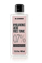 Духи, Парфюмерия, косметика Тоник для лица с гиалуроновой кислотой - Mr.Scrubber Hyaluronic Acid Face Tonic