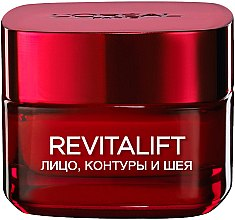 Духи, Парфюмерия, косметика Крем для контура лица и шеи - L'Oreal Paris Revitalift Face Contours and Neck Re-Support Cream