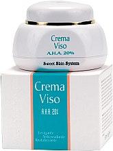 Духи, Парфюмерия, косметика Крем для лица АНА 20% для интенсивной стимуляции и лифтинга - Sweet Skin System Crema Viso