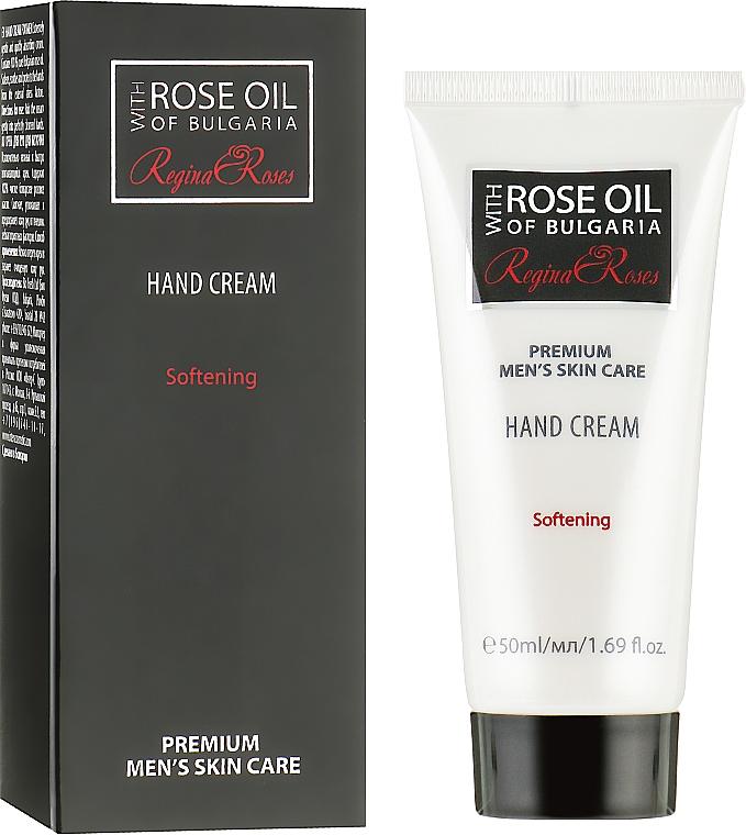 Мужской крем для рук c натуральным розовым маслом - BioFresh Rose of Bulgaria For Men Hand Cream