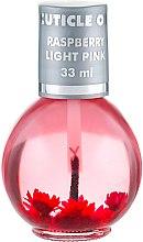 "Духи, Парфюмерия, косметика Масло для кутикулы ""Малина"" - Silcare Cuticle Oil Raspberry Light Pink"
