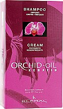 Духи, Парфюмерия, косметика Набор - Kleral System Orchid Oil Kit (shmp/150ml + mask/150ml)