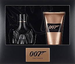 Духи, Парфюмерия, косметика James Bond 007 For Women - Набор (edp/30ml + sh/gel/50ml)