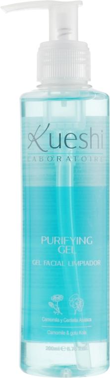 Гель очищающий для лица - Kueshi Purifiying Gel-Gel Limpiador Facial
