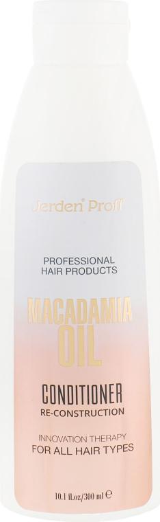 Кондиционер для волос с маслом Макадамии - Jerden Proff Macadamia Oil Conditioner