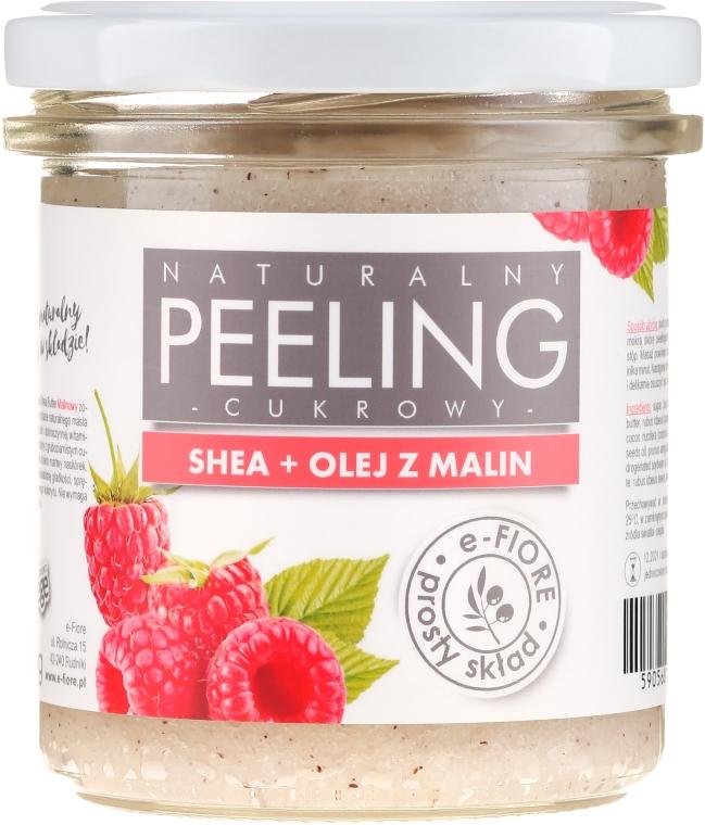 Пилинг для тела малиновый - E-Fiore Raspberry Body Peeling