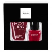 Духи, Парфюмерия, косметика Подарочный набор - Zoya Be Jolly (lip balm/12g + nail polish/7.5ml)