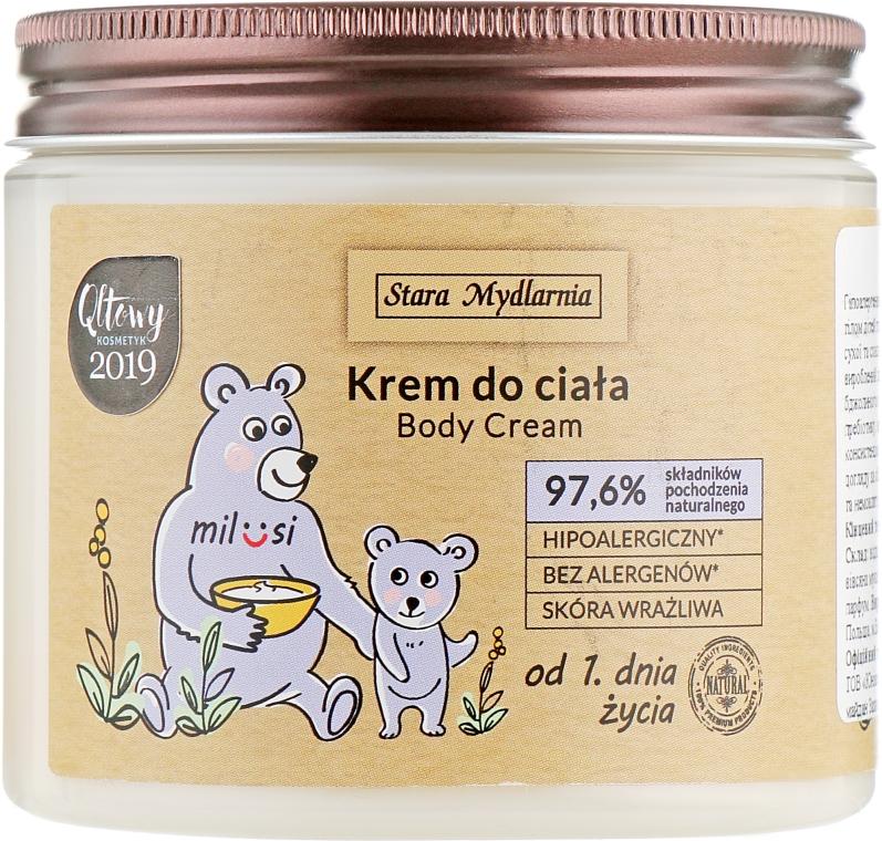 Детский крем для тела - Stara Mydlarnia Milusi Body Cream