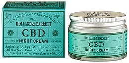 Духи, Парфюмерия, косметика Ночной крем для лица - Holland & Barrett CBD Night Cream
