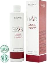 Духи, Парфюмерия, косметика Увлажняющий шампунь для укрепления и оздоровления волос - Bioearth Strengthening Shampoo