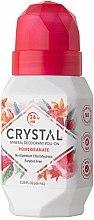 Роликовый дезодорант с ароматом Граната - Crystal Essence Deodorant Roll-On Pomegranate — фото N4