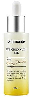 Питательное масло - Mamonde Enriched Nutri Oil — фото N1