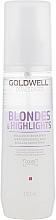 Парфумерія, косметика Сироватка-спрей для блиску освітленого волосся - Goldwell Dualsenses Blondes&Highlights Serum Spray