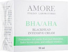 Духи, Парфюмерия, косметика Концентрированный крем с салициловой кислотой против точек и акне - Amore Blackhead Intensive Cream