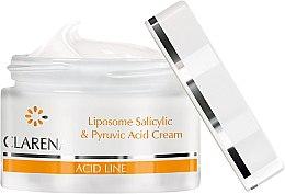 Крем с салициловой и пировиноградной кислотами - Clarena Liposome Pyruvic Acid Salicylic & Cream — фото N2