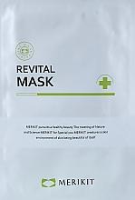 Духи, Парфюмерия, косметика Восстанавливающая маска для лица - Merikit Revital Mask