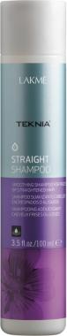Шампунь для гладкости волос - Lakme Teknia Straight Shampoo