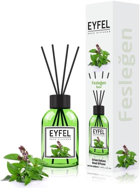 "Аромадиффузор ""Базилик"" - Eyfel Perfume Reed Diffuser Basil"