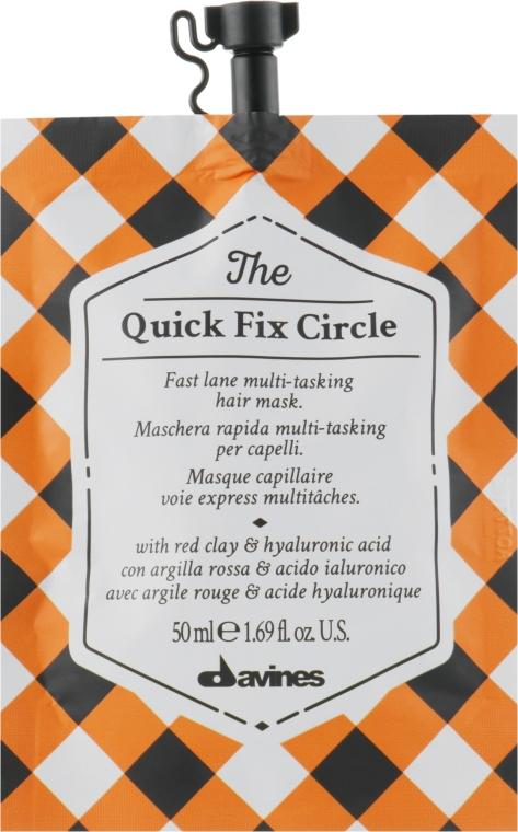 Маска для мгновенного увлажнения и разглаживания волос с гиалуроновой кислотой - Davines The Circle Chronicles The Quick Fix Circle