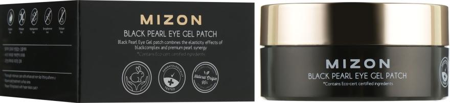 Гидрогелевые патчи с экстрактом черного жемчуга - Mizon Black Pearl Eye Gel Patch