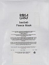 Духи, Парфюмерия, косметика Флисовая маска с экстрактом баобаба - Rosa Graf Baobab Fleece Mask
