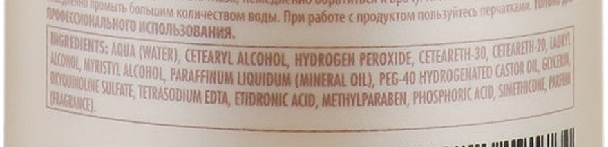 Молочний Оксидант - Green Light Luxury Haircolor Oxidant Milk 2.1% 7 vol. — фото N3