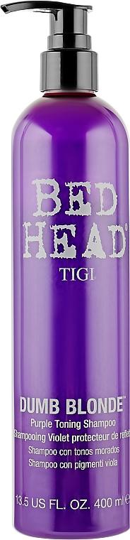 Шампунь для волос - Tigi Dumb Blonde Purple Toning Shampoo