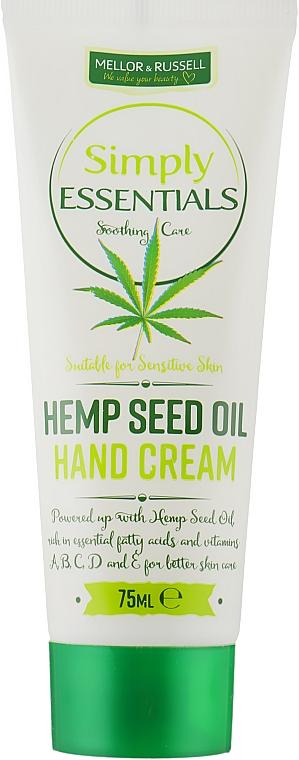 Крем для рук - Mellor & Russell Simply Essentials Hemp Seed Oil Hand Cream