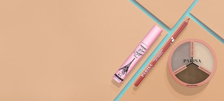 Товар с наименьшей стоимостью в подарок, при покупке трех акционных товаров Parisa Cosmetics