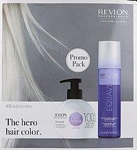 Духи, Парфюмерия, косметика Набор - Revlon Nutri Color Equave Blonde (h/balm/270ml + cond/200ml)