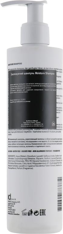 Зволожувальний шампунь для волосся - idHair Elements Xclusive Moisture Shampoo — фото N4