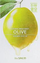 Духи, Парфюмерия, косметика Питающая тканевая маска - The Saem Natural Mask Sheet Olive