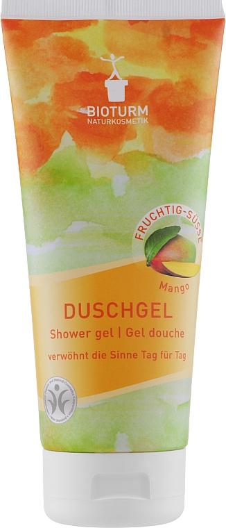"""Гель для душа """"Манго"""" - Bioturm Mango Shower Gel No.75"""