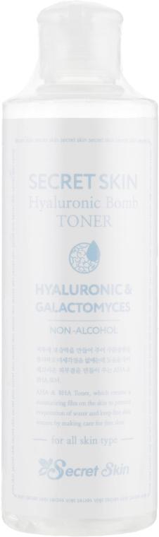 Тонер для лица - Secret Skin Hyaluronic Bomb Toner