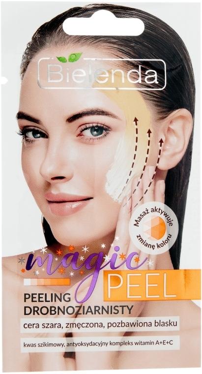 Мелкозернистый пилинг для серой, усталой, лишенной блеска кожи - Bielenda Magic Peel