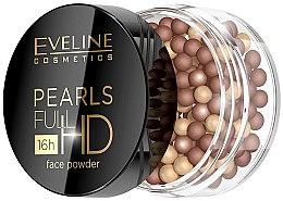 Духи, Парфюмерия, косметика Шариковая бронзирующая пудра для лица - Eveline Cosmetics Pearls Full HD 16h Face Powder