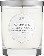 Духи, Парфюмерия, косметика Kobo Cashmere Valley Wood - Ароматическая свеча