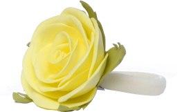 """Духи, Парфюмерия, косметика Резинка для волос """"Лимонная роза"""", маленькая - Katya Snezhkova"""