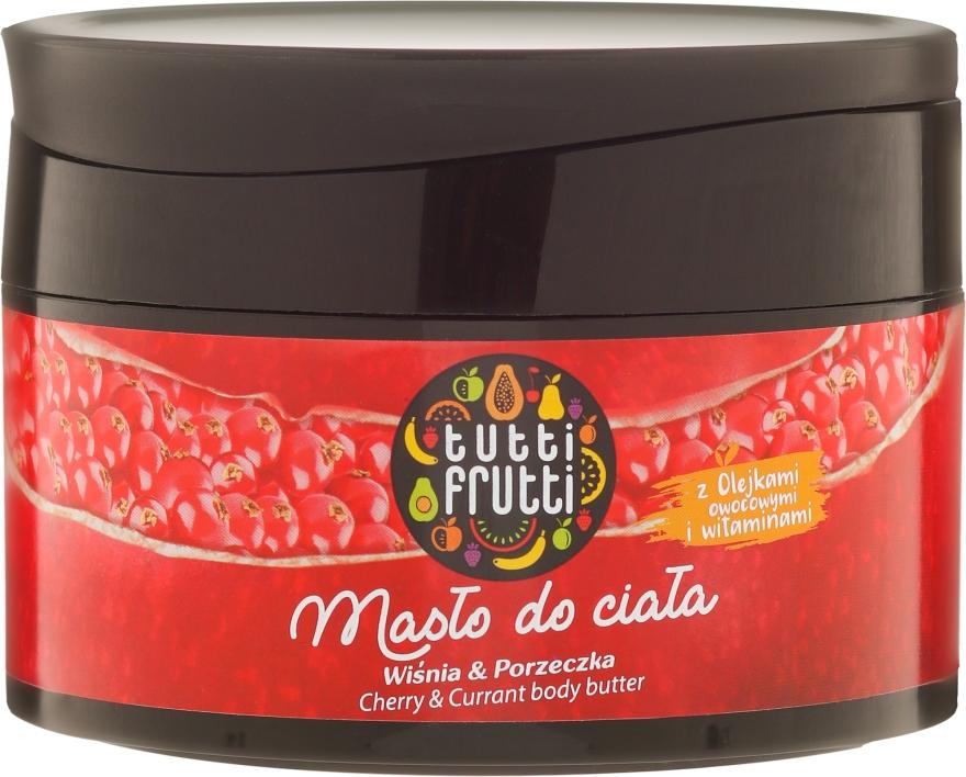 Масло для тела - Farmona Tutti Frutti Cherry & Currant Earth