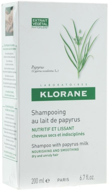 Шампунь с молочком папируса - Klorane Shampoo With Papyrus Milk
