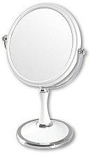 Духи, Парфюмерия, косметика Зеркало косметическое двухстороннее, 85642, белое - Top Choice