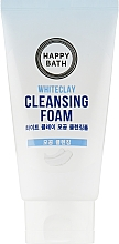 "Духи, Парфюмерия, косметика Пенка для умывания ""Белая глина"" - Happy Bath Whiteclay Cleansing Foam"