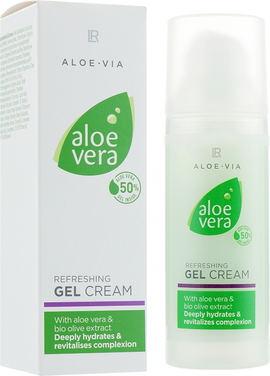 Освежающий крем-гель - LR Health & Beauty Aloe Vera Refreshing Gel Cream