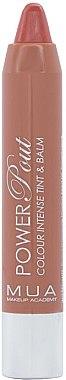 Тинт-бальзам для губ - MUA Power Pout Lip Tint & Balm